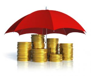 Peniaze zabezpečené dáždnikom